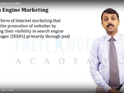 Introduction To Search Engine Marketing